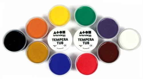 tempera-paint-set-12-x-70ml-tubs-in-assorted-colours