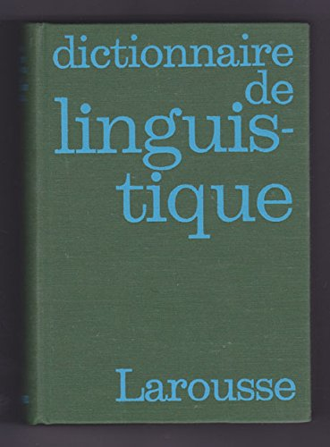 Dictionnaire de linguistique