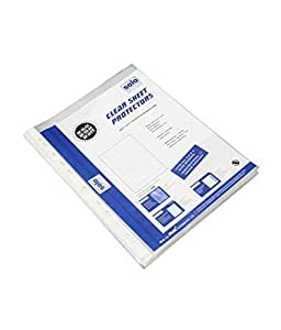Solo Sheet Protector (Heavy Duty) (Pack Of 50)