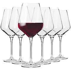 Rot-Weingläser Set von 6
