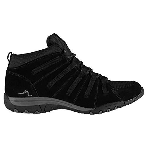 Kangol Lynn Schnürstiefel Damen Schwarz Footwear Schuhe - Schwarz, (UK6) (EU39)