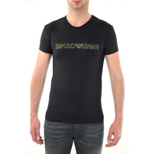 Emporio Armani Herren T-Shirt Schwarz