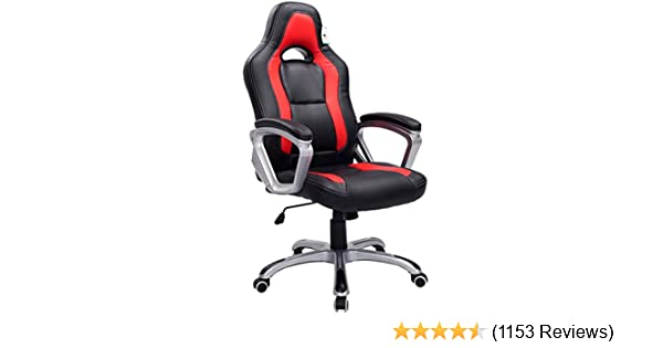 cherry tree furniture designed racing sport swivel chair in black