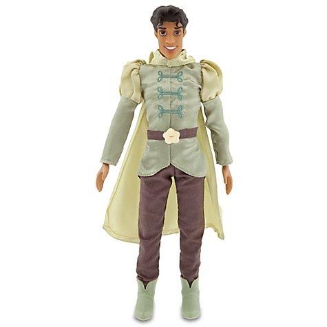 The Princess and the Frog Prince Naveen Doll -- 12''
