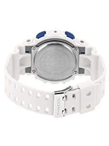 CASIO GD-100SC-7ER - Reloj de caballero de cuarzo, correa de resina color blanco de CASIO
