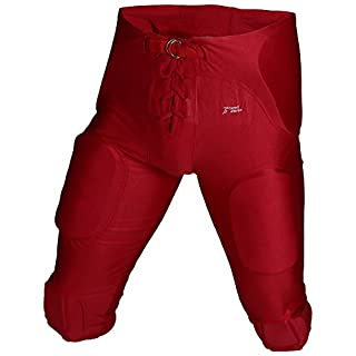 Active Athletics Spielhose Gamehose All In One Spandex 7 Pads - rot L
