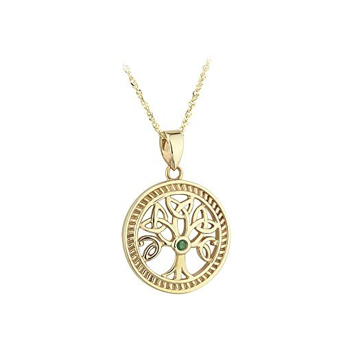 10k-yellow-gold-with-emerald-tree-of-life-necklace-irish-made-by-solvar