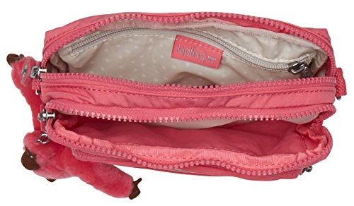 Kipling - Multiple, Borse a spalla Donna Rosa (City Pink)