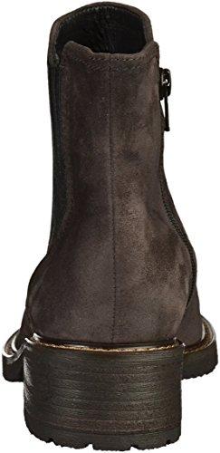 Gabor Comfort Basic, Stivali Chelsea Donna Dark Grey (39)