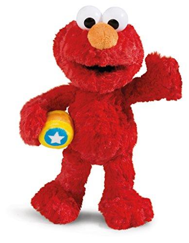 Nici 41969 Sesamstraße Kuscheltier Monster Elmo, Rot
