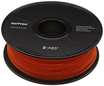 Zotrax 10534 Z-ABS Filament, 1.75 mm, 800 g, Orange
