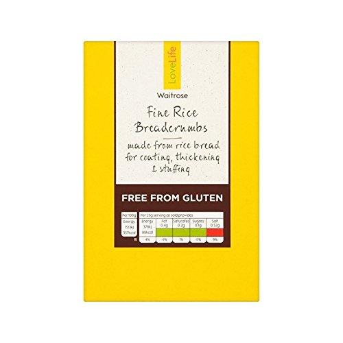 Gluten Chapelure De Riz Vie Amoureuse De Waitrose 250G - Paquet de 2