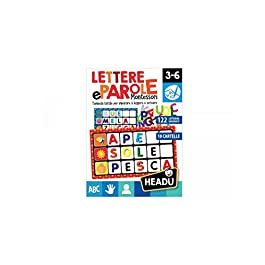 Headu- Lettere e Parole Montessori Gioco, Multicolore, IT20522