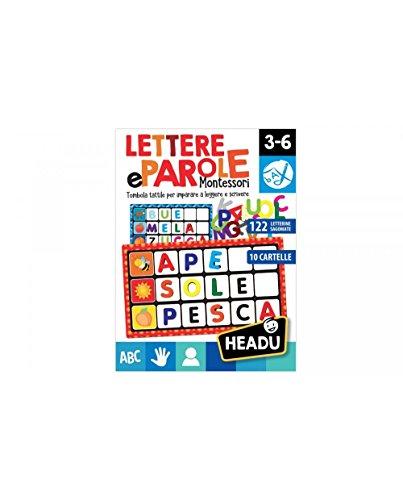 Headu- Lettere e Parole Montessori, IT20522