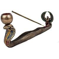 Räucherstäbchenhalter Stäbchenhalter Isis auf Schlange aus Kunstharz, 29 cm, Halter Schiffchenhalter zum Räuchern... preisvergleich bei billige-tabletten.eu