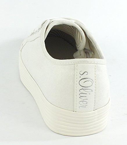 s.Oliver  5-5-23622-28/100 100, chaussons d'intérieur femme Weiß