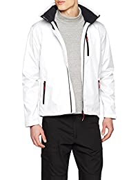 Helly Hansen Crew Hooded Midlayer Chaleco, Hombre, Blanco (White), XXL