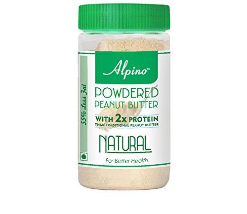 Alpino Natural Peanut Butter Powder 400g (Unsweetened)