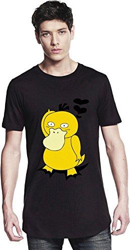 Psyduck Falls In Love Long T-shirt Small