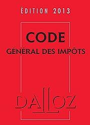 Code général des impôts 2013 avec cédérom
