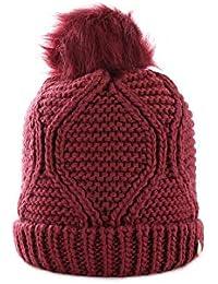 Amazon.it  cappello bordeaux - Donna  Abbigliamento 70af5528b2b1