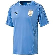 Puma 2018-2019 Uruguay Training Jersey (Blue)