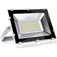 Viugreum 200W Reflector Proyector de Iluminación al Aire Libre Impermeable IP65 LED Focos Iluminación de Blanco Frío