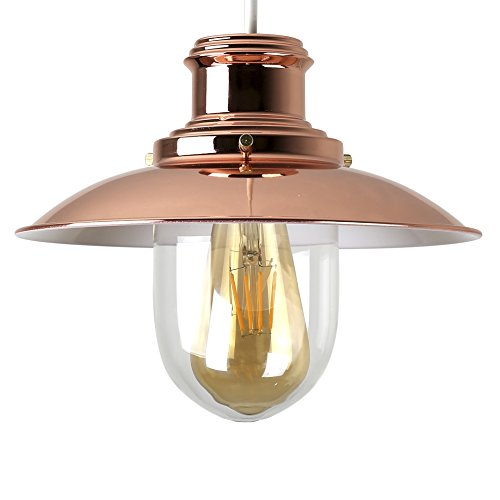 copper lighting fixture. minisun modern polished copper metal and glass fishermanu0027s vintage style lantern easy fit ceiling lamp pendant lighting fixture