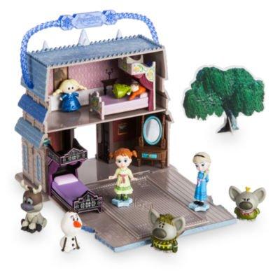 Disney Playset de Disney Elsa, Colección de Animadores de Disney Littles