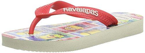Havaianas Kids minions, Unisex-Kinder Zehentrenner, Beige 0121, 29/30 EU (27/28 Brazilian)