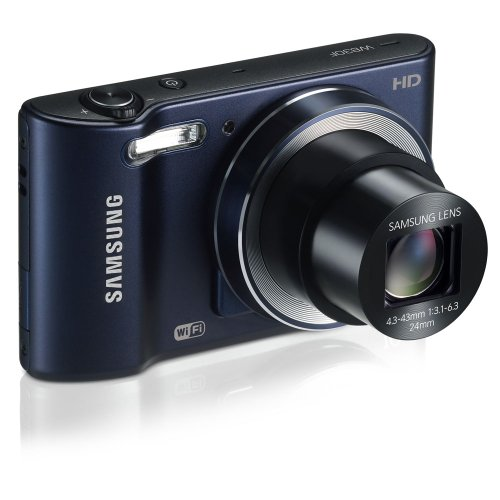 Samsung Wb30f 16.2mp Smart Wi-fi Digital Camera With 10x Optical Zoom And 3.0-inch Lcd (black), 4gb Card, Camera Case