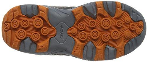Hi-Tec Fast Hike, Chaussures de Randonnée Hautes garçon Marron (Taupe/charcoal/burnt Orange 041)