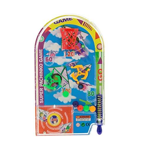 Swiftswan Neuheit Space Race Pinball Spielzeug Party Spiele Pull Back Pinball Mini Maschine Geschenk