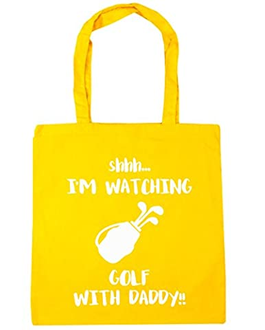 hippowarehouse Shhh... I 'm Watching Golf mit Daddy. Tote Shopping