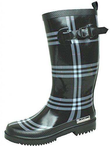 BOCKSTIEGEL-rita-bottes en caoutchouc pour femme-noir Noir - Noir