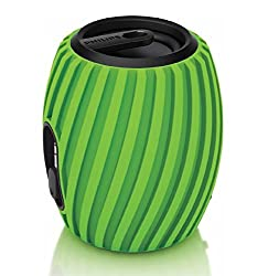 Philips SBA3011GRN/37 SoundShooter Portable Speaker (Green)