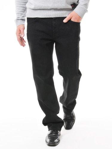 Preisvergleich Produktbild PIONEER Stretch-Jeans 1680-9403-05 black RANDO: Weite: W48 | Länge: L30