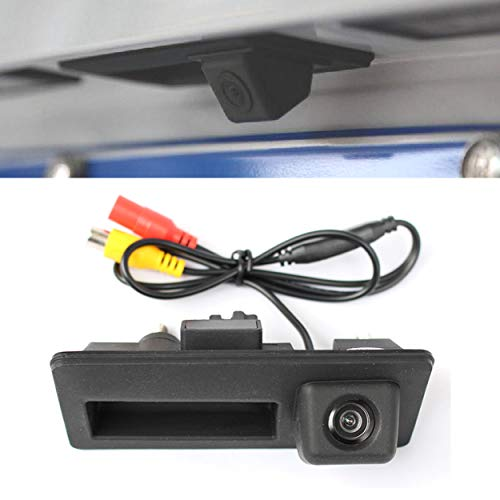 YUGUIYUN Auto Rückfahrkamera, Auto Rückansicht Kamera HD CCD Nachtsicht Rückansicht Rückfahrkamera für A4 A5 S5 Q3 Q5 2013-2015 / for Passat/Tiguan/Golf/Touran/Jetta/Sharan/Touareg (Ccd Nachtsicht-kamera)