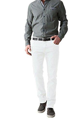 Stooker jean pour homme stretch ärztehose mod. frisco blanc Blanc - blanc
