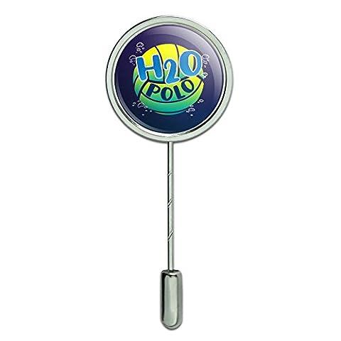 Water Polo Ball H2O Stick Pin Stickpin Hat Brooch