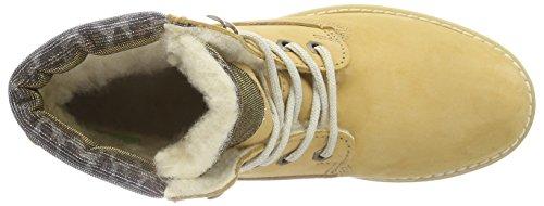 Tamaris 26244 Damen Combat Boots Gelb (Corn Glam 638)