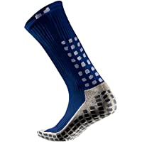 Trusox TSMSBLL Calcetines Cortos Finos, Hombre, Azul Royal/Blanco, M (39-43.5)