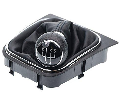 L & P 256-2Gonwil-Cuffia del cambio + pomello + Set completo telaio compatibile con VW EOS Golf 5+ 6V + VI JETTA 5marce come plug play per Notebook