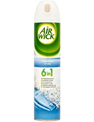 Air Wick Air Freshener, 6-in-1 Air Freshener Spray, Crisp Linen and Lilac, 240 ml, Single