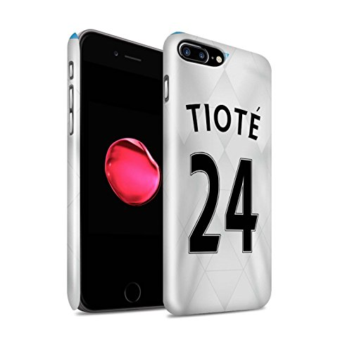 Offiziell Newcastle United FC Hülle / Glanz Snap-On Case für Apple iPhone 7 Plus / Townsend Muster / NUFC Trikot Away 15/16 Kollektion Tioté