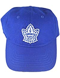 d7d8fe5c13ef14 NHL Retro Toronto Maple Leafs Tymes Vintage Washed Flannel Adjustable Hat  by American Needle