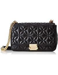 1d8be1758dbb77 Michael Kors Women's Large Sloan Chain Leather Shoulder Bag
