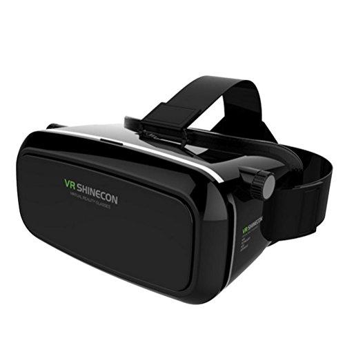 HUYAN1 3D VR Gläser 3D VR Headset Virtual Reality Box mit verstellbarem Objektiv Für 3,5-6,0 Zoll...