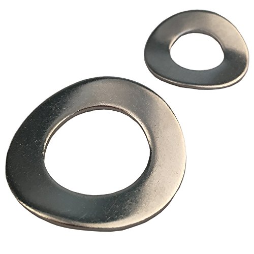 Federscheiben M8 Form B gewellt DIN 137 Edelstahl A2 (50 Stück) - Unterlegscheiben Beilagscheiben Wellscheiben