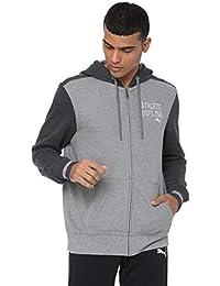 Puma Style ATHL Hd. Sweat JKT TR Grey
